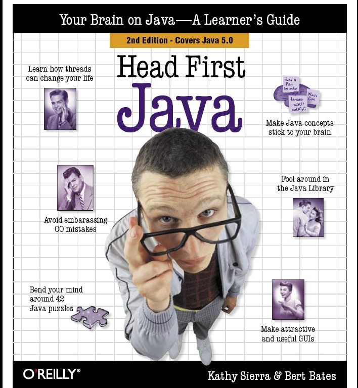 Head first Java, pdf book, ebook